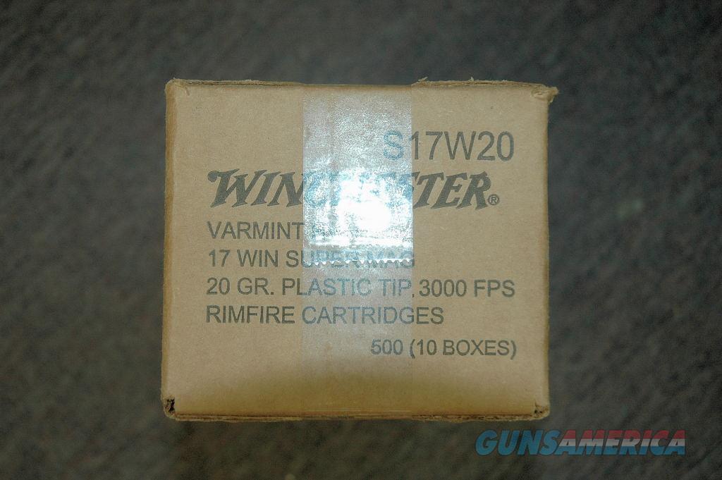 Winchester 17 WSM (500 Rds)  Non-Guns > Ammunition
