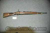 Mauser model 98 DOU code 1943  Guns > Rifles > Mauser Rifles > German