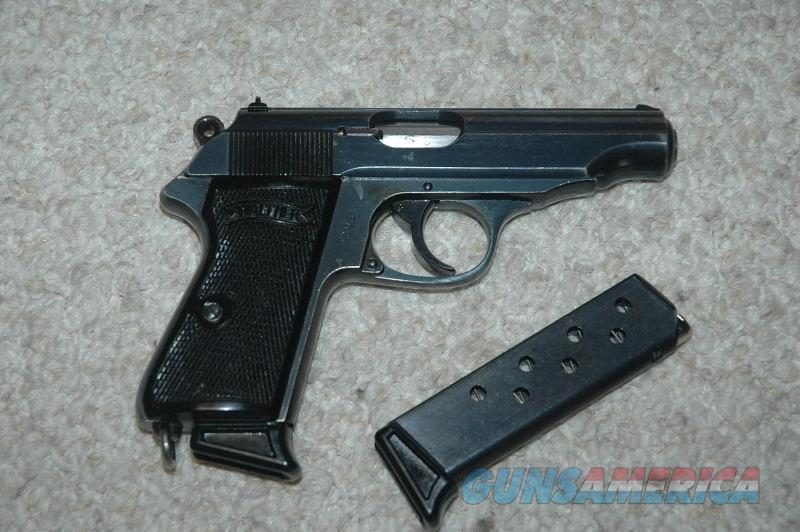 Walther PP Danish Police Pistol 32 ACP Mfg 1940  Guns > Pistols > Walther Pistols > Pre-1945 > PP