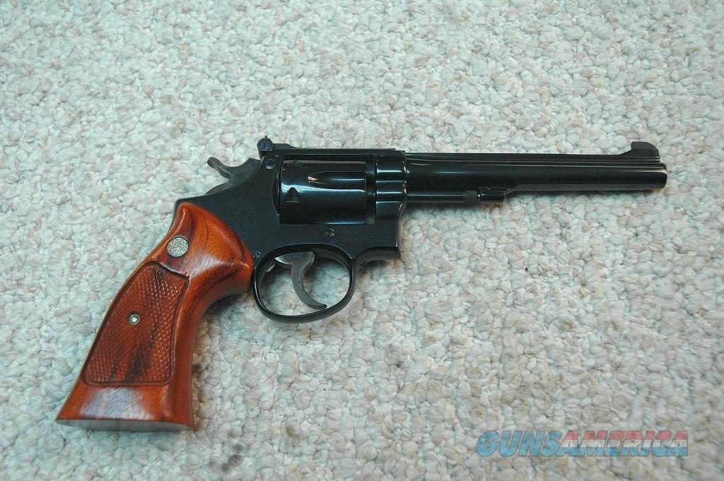 S&W Pre Model 17 (Mfg 1953) 22 LR  Guns > Pistols > Smith & Wesson Revolvers > Med. Frame ( K/L )