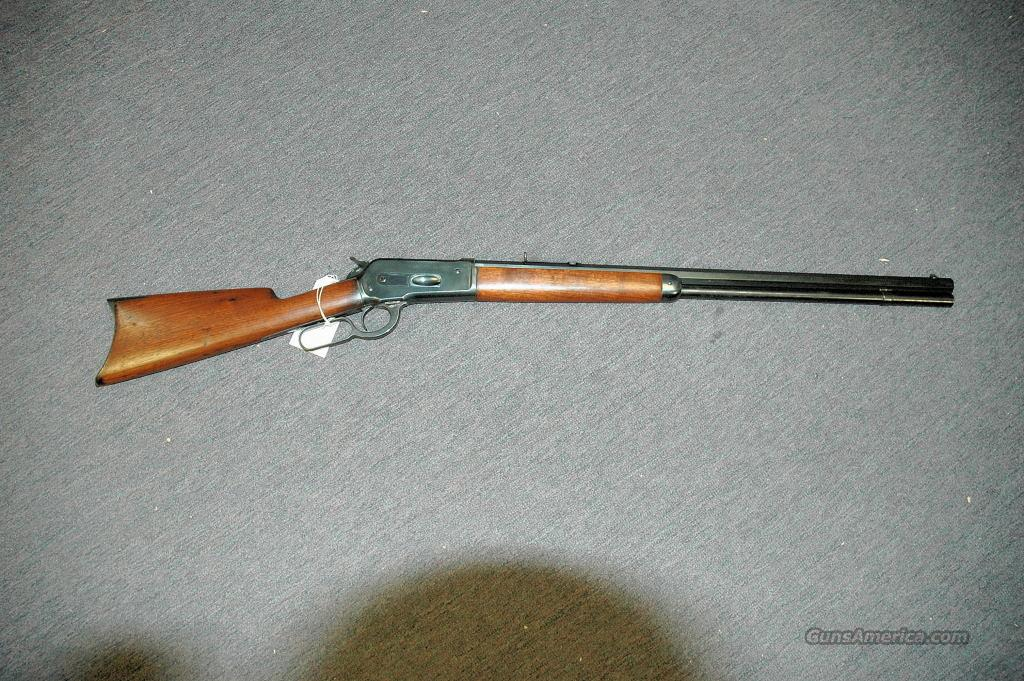 Winchester 1886 45-70 Re-blued/Re-sleeved  Guns > Rifles > Browning Rifles > Lever Action