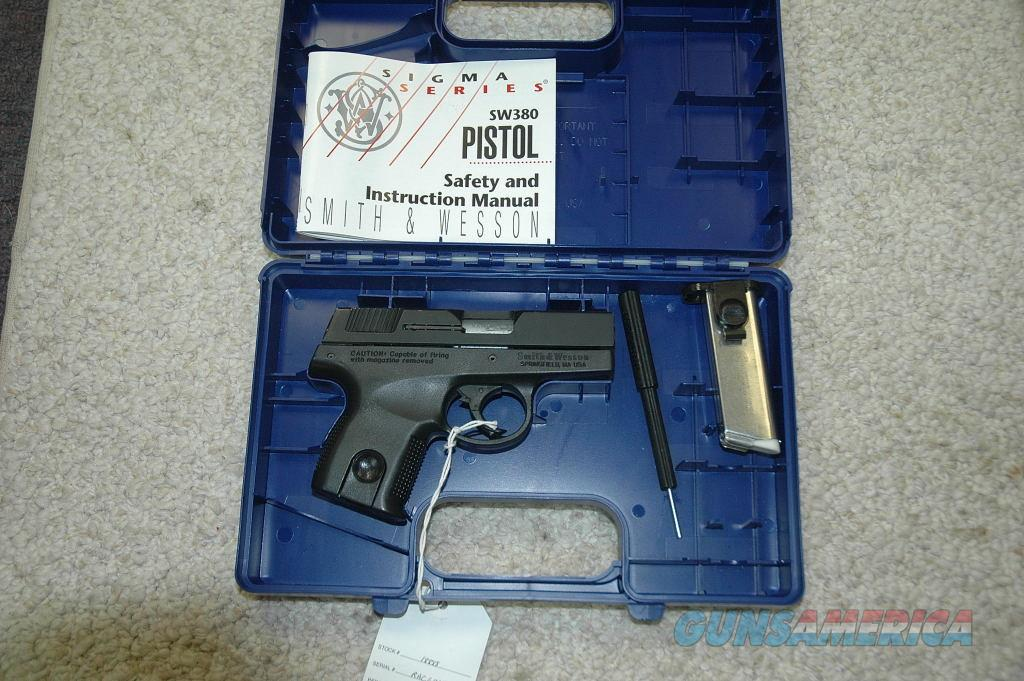 S&W SW380 Unfired  Guns > Pistols > Smith & Wesson Pistols - Autos > Polymer Frame