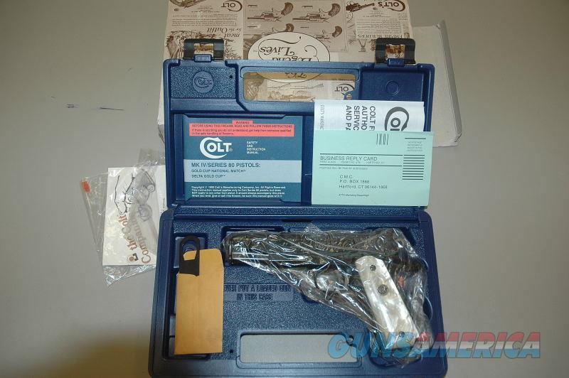 Colt 1911 EL Teniente .38 Super New In Box  Guns > Pistols > Colt Automatic Pistols (1911 & Var)