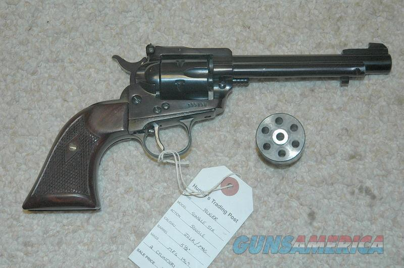 Ruger Single Six 22LR/Mag Mfg 1969  Guns > Pistols > Ruger Single Action Revolvers > Single Six Type