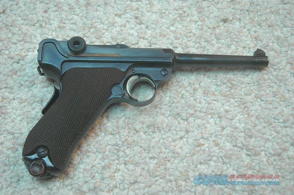 DWM Luger 1906 with backstrap safety 30 caliber  Guns > Pistols > Luger Pistols