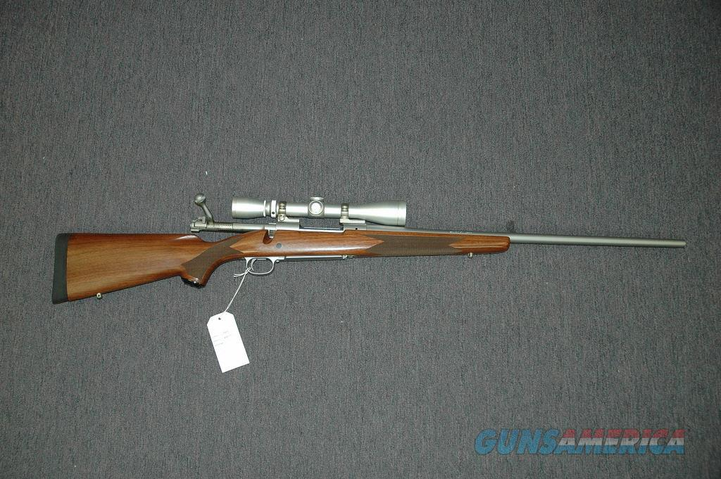 Winchester 70 Stainless w/Leupold Scope  Guns > Rifles > Winchester Rifles - Modern Bolt/Auto/Single > Model 70 > Post-64