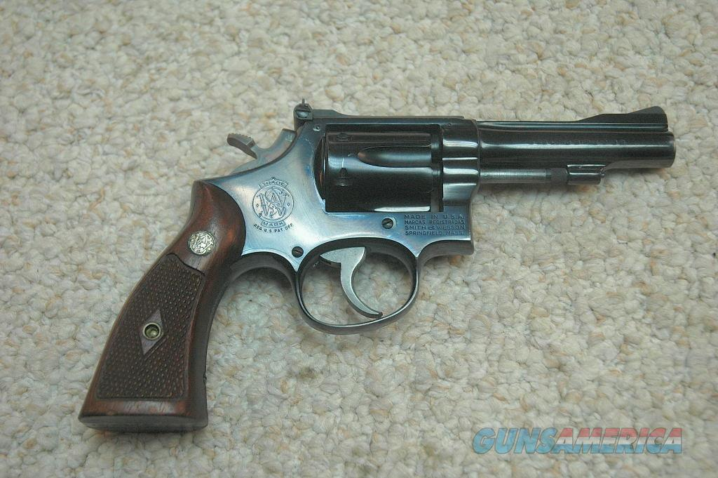 S&W 18-2 (Mfg 1962) 22 LR  Guns > Pistols > Smith & Wesson Revolvers > Full Frame Revolver