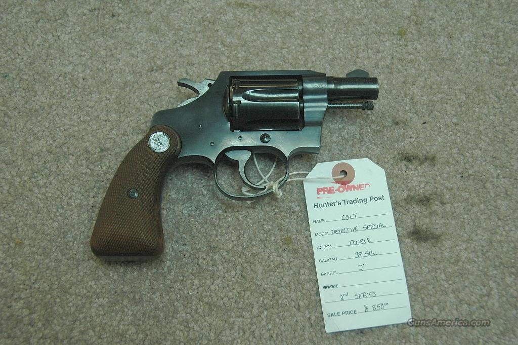 Colt Detective Spl (2nd Series)  Guns > Pistols > Colt Double Action Revolvers- Modern