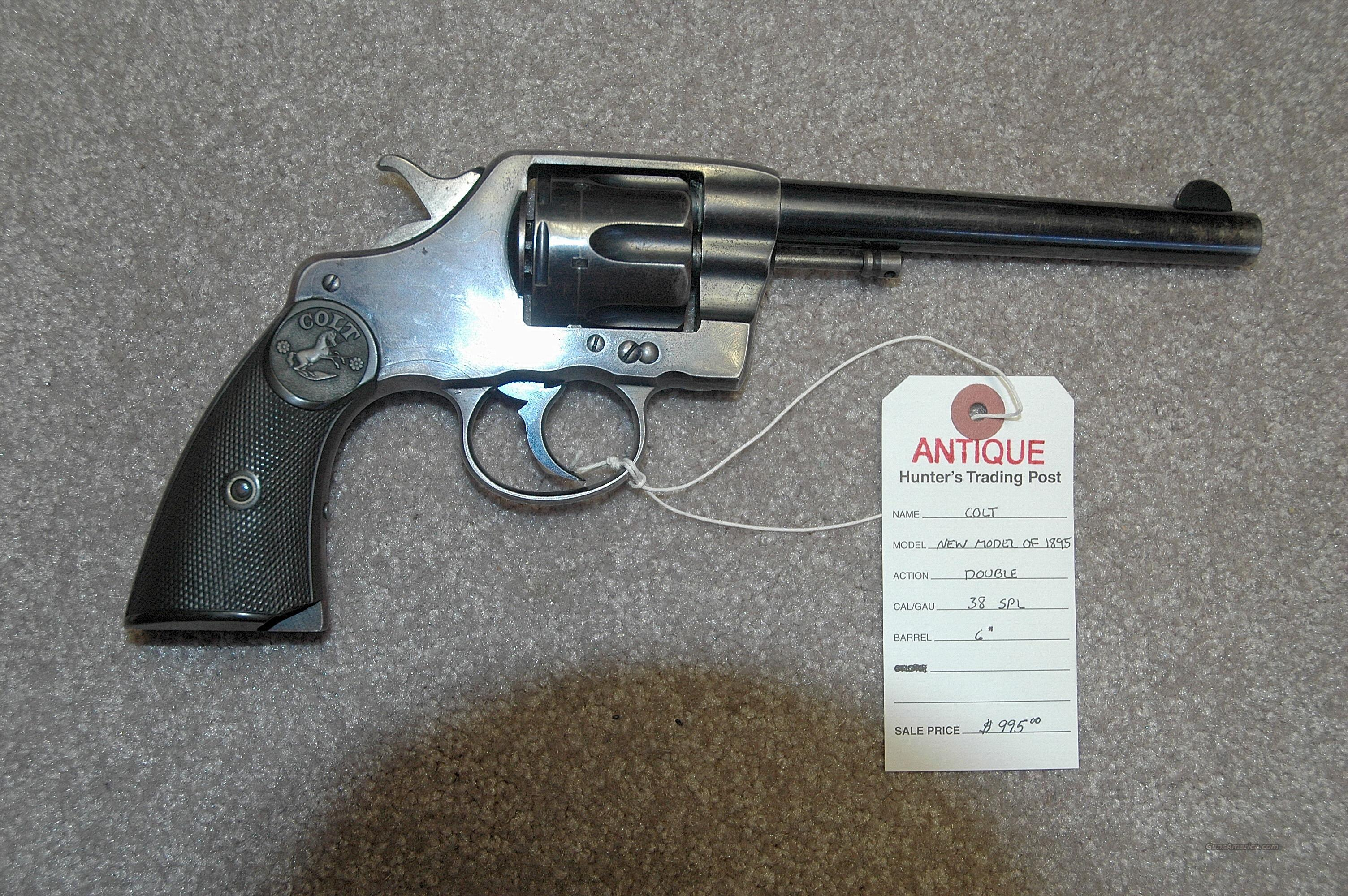 Colt New Model of 1895  Guns > Pistols > Colt Double Action Revolvers- Pre-1945