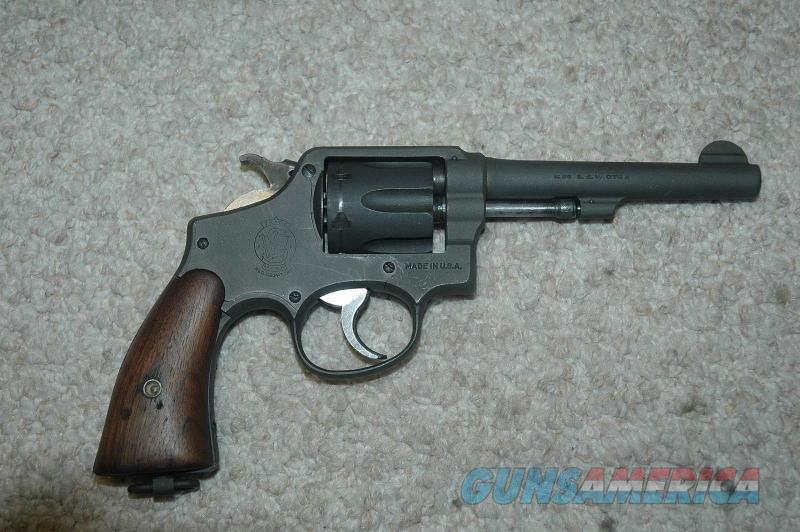 S&W Victory WWII New Zealand Lend Lease  Guns > Pistols > Smith & Wesson Revolvers > Med. Frame ( K/L )