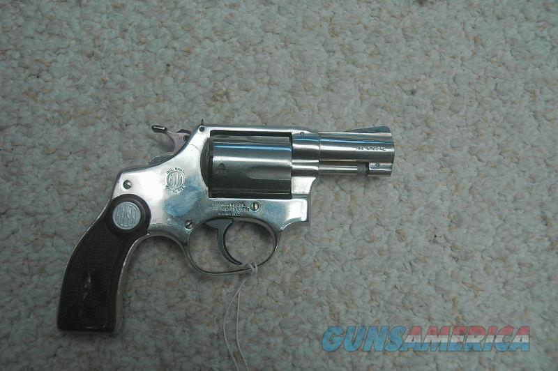 Rossi 68 Nickel Finish 38 Special  Guns > Pistols > Rossi Revolvers