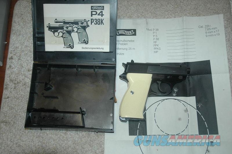 Walther P38K Mfg 1976 Unfired with box and papers  Guns > Pistols > Walther Pistols > Post WWII > P38