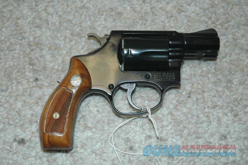 S&W 37 Airweight Mfg 1969  Guns > Pistols > Smith & Wesson Revolvers > Small Frame ( J )