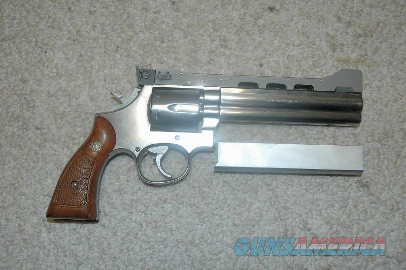 S&W 686 (No Dash) Jarvis Custom Mfg 1983  Guns > Pistols > Smith & Wesson Revolvers > Med. Frame ( K/L )