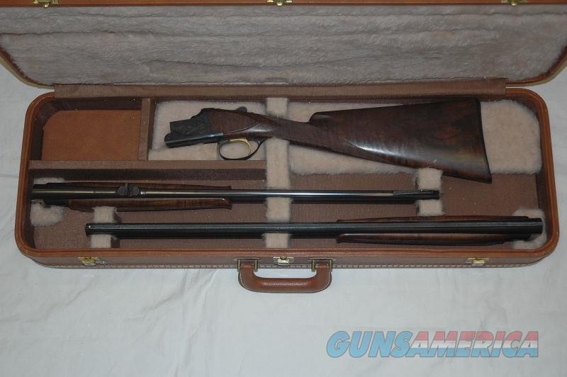 Browning Superposed Continental 20 Ga/ 30-06 O/U Set  Guns > Shotguns > Browning Shotguns > Over Unders > Belgian Manufacture