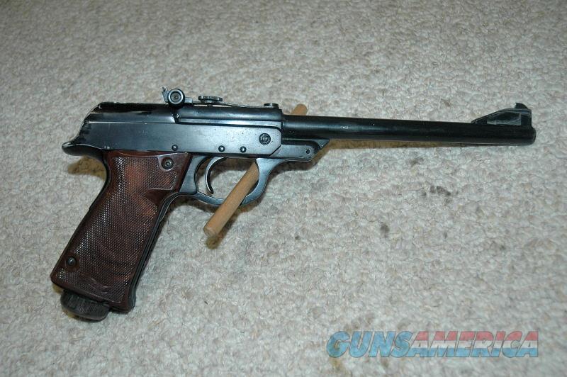 Walther LP 53 Pellet Pistol Used .177  Non-Guns > Air Rifles - Pistols > Single Pump
