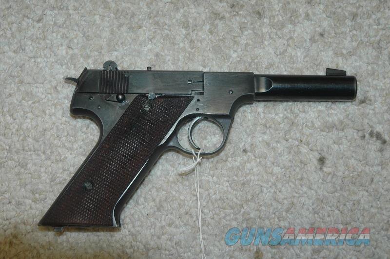 "Hi Standard H-D Military 4.5"" BBL 22 LR  Guns > Pistols > High Standard Pistols"