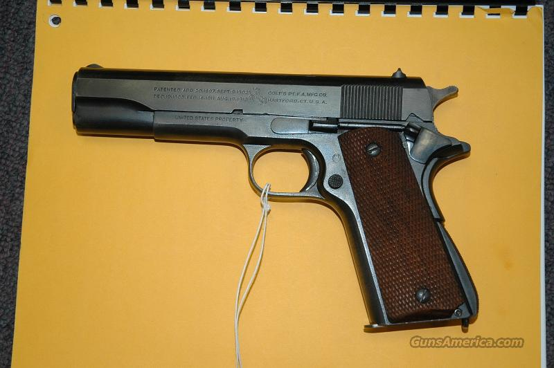 Colt 1911 with A1 slide  Guns > Pistols > Colt Automatic Pistols (1911 & Var)