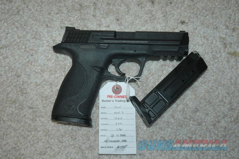 S&W M&P 9 Used  Guns > Pistols > Smith & Wesson Pistols - Autos > Polymer Frame