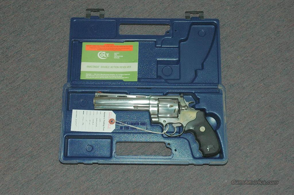 Colt Anaconda (Mfg 1996)  Guns > Pistols > Colt Double Action Revolvers- Modern
