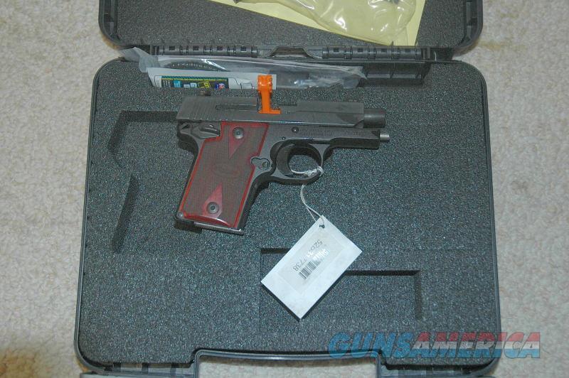 Sig Sauer P938 Rosewood Grips NIB  Guns > Pistols > Sig - Sauer/Sigarms Pistols > P938