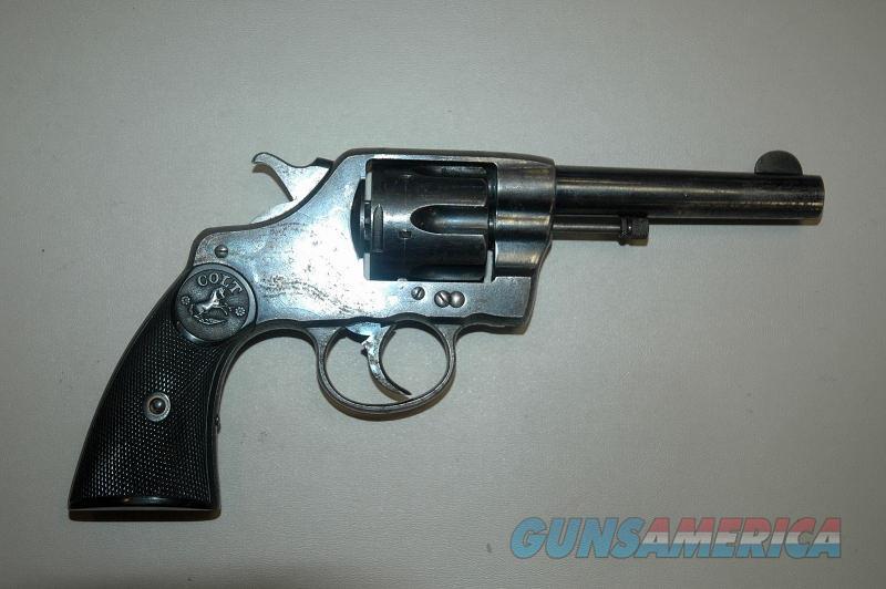 Colt 38 DA Mfg 1905 .38 Long Colt  Guns > Pistols > Colt Double Action Revolvers- Pre-1945