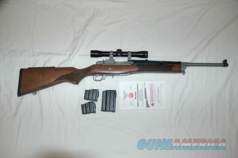 Ruger Mini 14 Mfg 2006 With Leupold Scope  Guns > Rifles > Ruger Rifles > Mini-14 Type