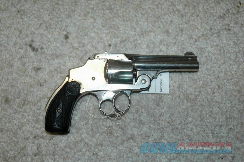 S&W Safety Hammerless 38 S&W  Guns > Pistols > Smith & Wesson Revolvers > Pre-1945