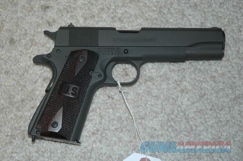Springfield 1911A1 45 ACP  Guns > Pistols > Springfield Armory Pistols > 1911 Type