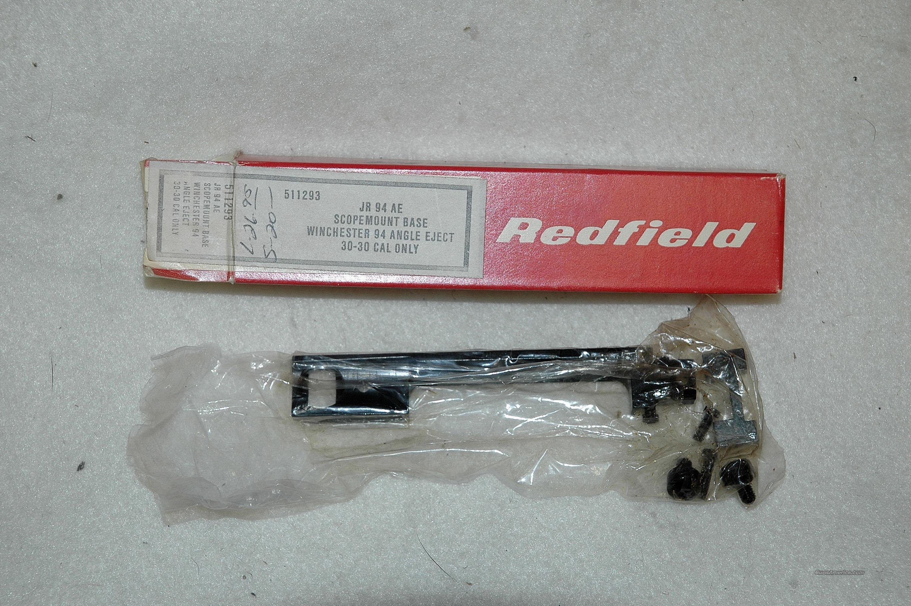 Redfield base for Winchester 94 AE  Non-Guns > Scopes/Mounts/Rings & Optics > Mounts > Other
