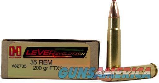 Hornady 35 Rem 200 Gr. FTX LVR (200 Rounds)  Non-Guns > Ammunition