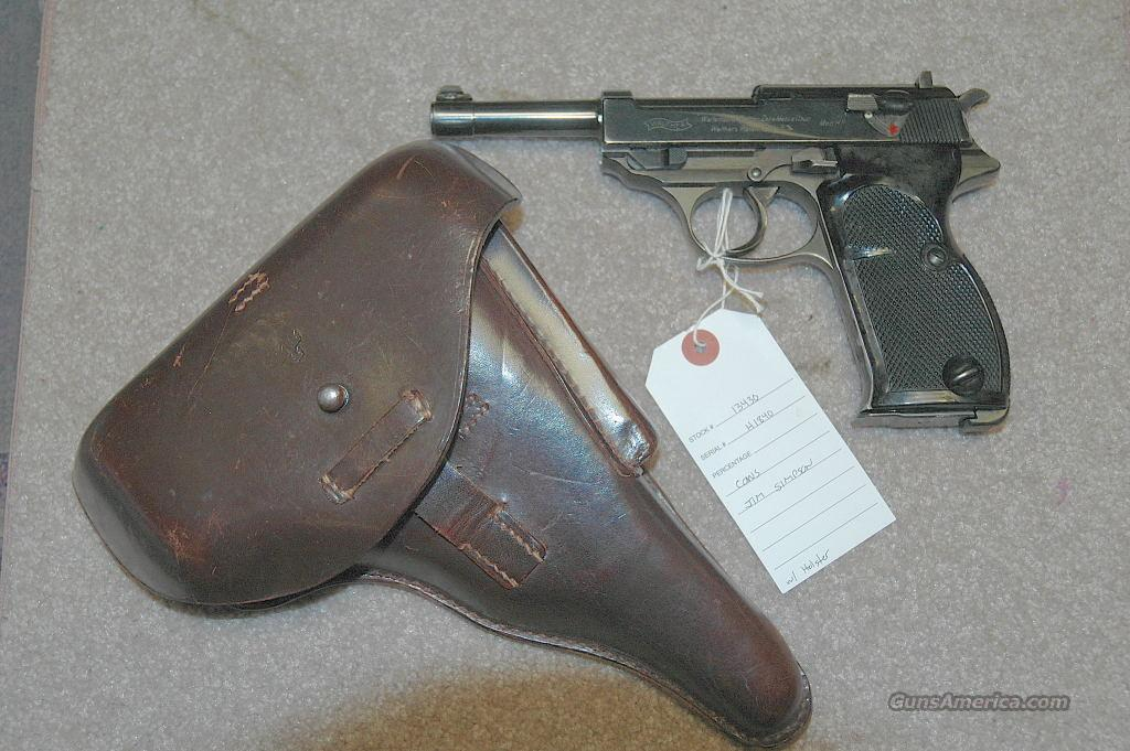 Walther HP Swedish Contract  Guns > Pistols > Walther Pistols > Pre-1945 > P-38