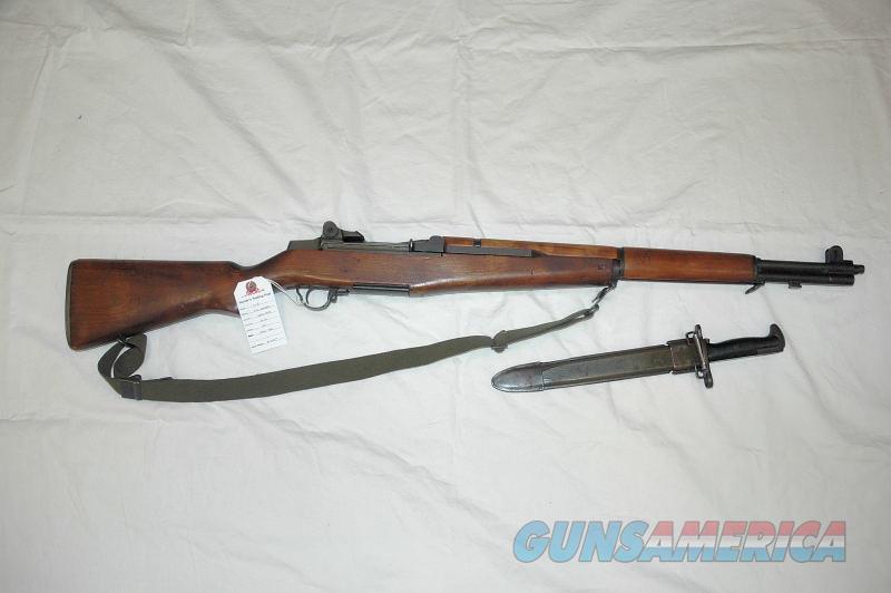H&R M1 Garand Mfg 1956 w/ Bayonet Dated 1943  Guns > Rifles > Military Misc. Rifles US > M1 Garand