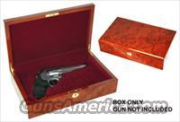 COLT SAA BURL MAPLE PRESENTATION CASE  Non-Guns > Gun Cases