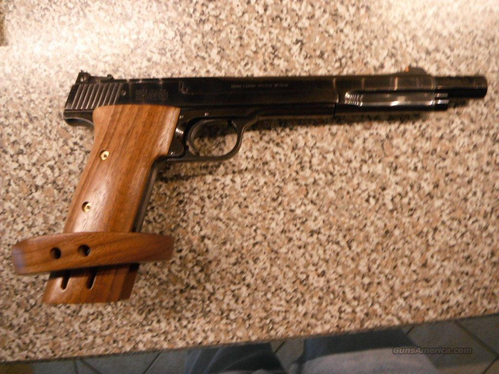 S&W 41 WOOD CUSTOM TARGET GRIPS  Non-Guns > Gun Parts > Grips > Smith & Wesson
