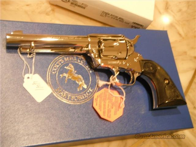 "Colt SAA 32-20 5.5"" NICKLE NEW IN BOX  Guns > Pistols > Colt Single Action Revolvers - 3rd Gen."