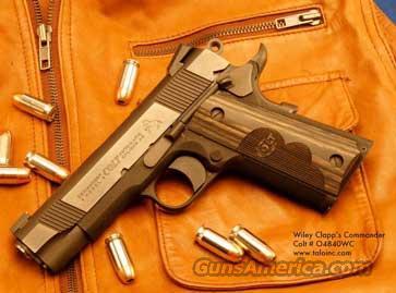 COLT 1911 21ST CENTURY WILEY CLAPP COMMANDER  Guns > Pistols > Colt Automatic Pistols (1911 & Var)