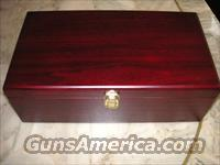 Colt Custom Wood Presentation Pistol Case  Non-Guns > Gun Cases