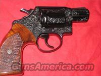 "Detective Special Class ""C"" Engraved Cased  Guns > Pistols > Colt Double Action Revolvers- Modern"