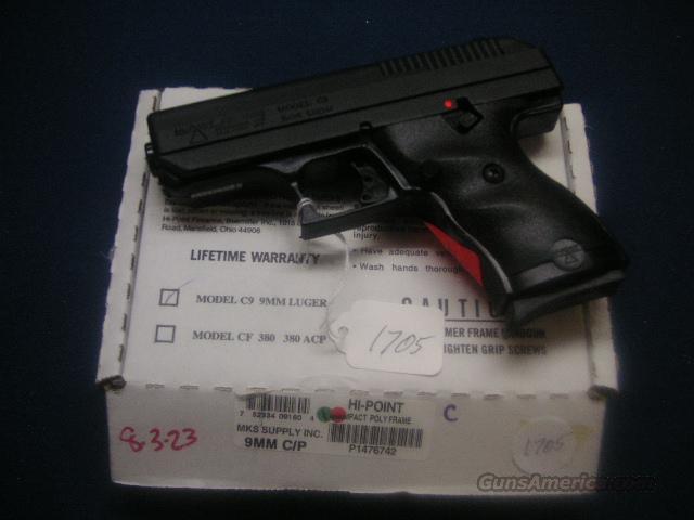 Hi Point Ultra Compact 9mm Lifetime Warranty