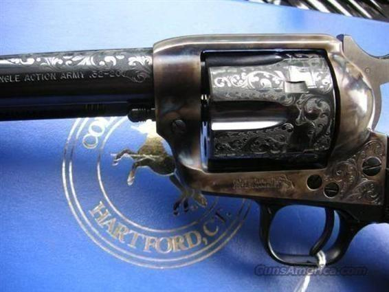 SAA 32-20 Class C Engraved NIB  Guns > Pistols > Colt Single Action Revolvers - 3rd Gen.