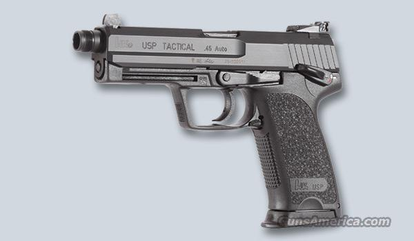 H&K USP 40 TASCTICAL W/THREADED BARREL  Guns > Pistols > Heckler & Koch Pistols > Polymer Frame