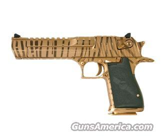 50AE TIGER STRIPE GOLD XIX NEW IN BOX  Guns > Pistols > Desert Eagle/IMI Pistols > Desert Eagle