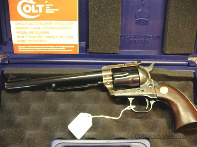 Colt SAA 45 MA OK New Frontier  Guns > Pistols > Colt Single Action Revolvers - 3rd Gen.
