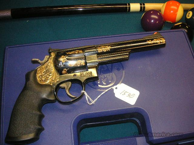 S&W 29-6 Fully ngraqved with Gold Filled Engr  Guns > Pistols > Smith & Wesson Revolvers > Full Frame Revolver