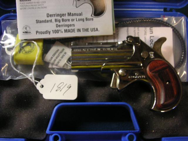 COBRA 38 SPL DERRINGER CHROME MA OK  Guns > Pistols > Cobra Derringers