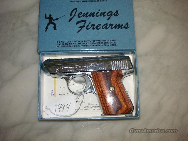 Jennings J22  Massachusetts Compliant  Guns > Pistols > Jennings Pistols