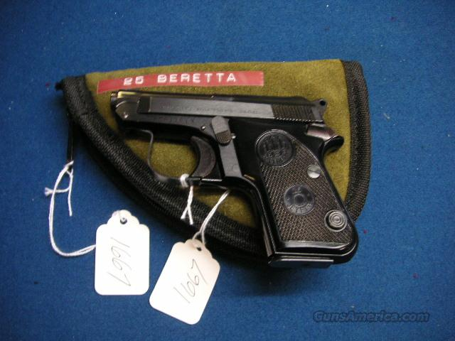 Beretta 950 25cal Tip Up Like New Condition  Guns > Pistols > Beretta Pistols > Small Caliber Tip Out