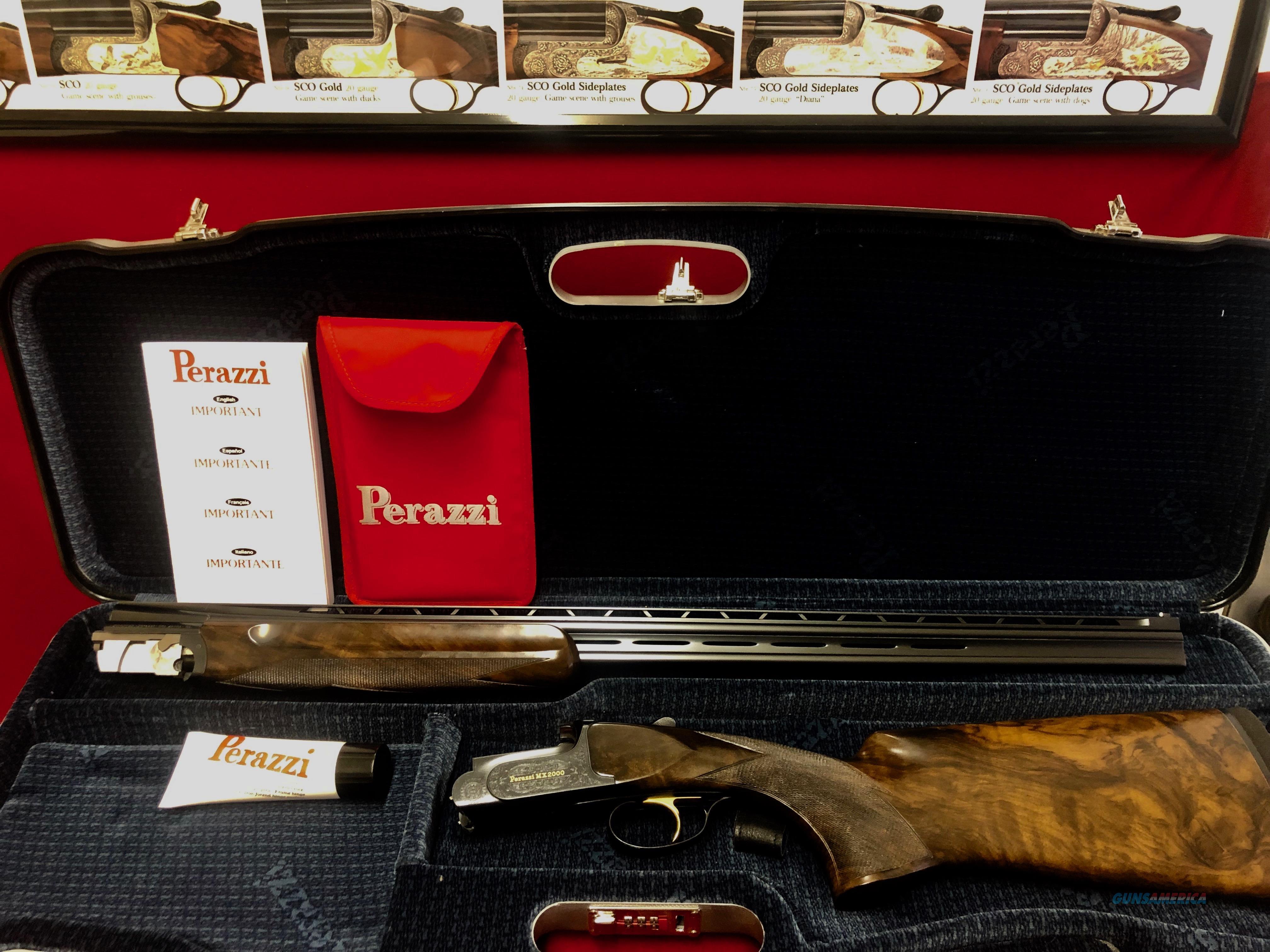 Perazzi MX2000/8-20 Frame with 410 barrels Upgraded Wood  Guns > Shotguns > Perazzi Shotguns