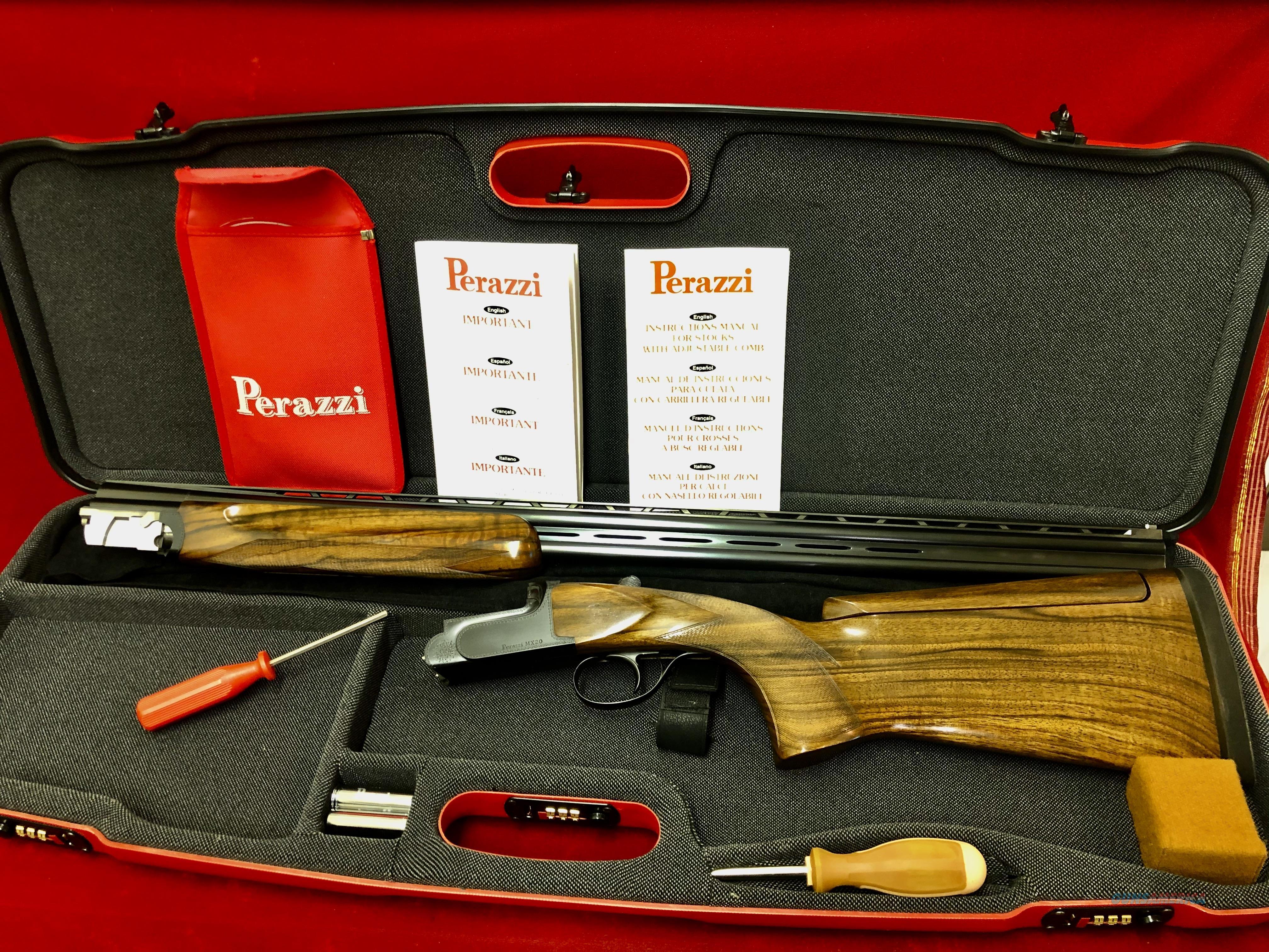 Perazzi MX20 with 28 gauge barrel LIKE NEW  Guns > Shotguns > Perazzi Shotguns